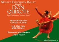 Graphic Design Contest Entry #129 for Graphic Design for Classical ballet event called Don Quixote