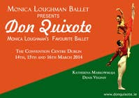Graphic Design Contest Entry #76 for Graphic Design for Classical ballet event called Don Quixote