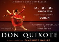 Photography Contest Entry #184 for Graphic Design for Classical ballet event called Don Quixote