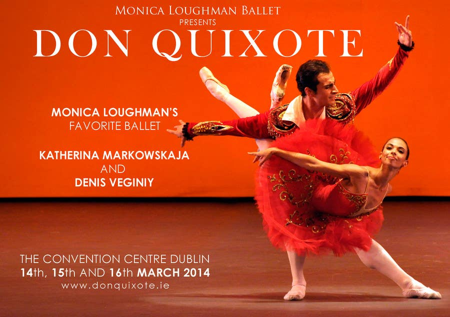 #150 for Graphic Design for Classical ballet event called Don Quixote by qoaldjsk