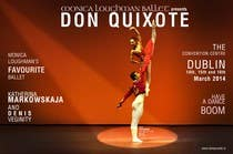 Photography Contest Entry #14 for Graphic Design for Classical ballet event called Don Quixote