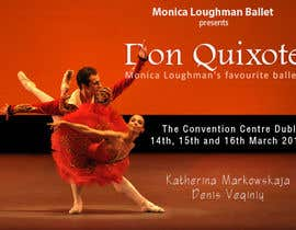 #174 for Graphic Design for Classical ballet event called Don Quixote by TrungP