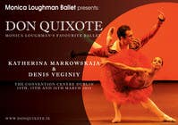 Contest Entry #131 for Graphic Design for Classical ballet event called Don Quixote
