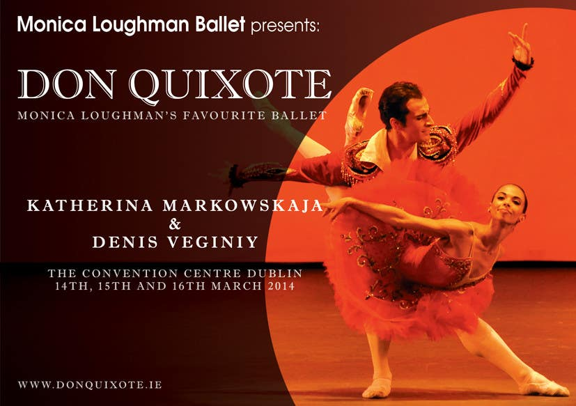 Penyertaan Peraduan #131 untuk Graphic Design for Classical ballet event called Don Quixote