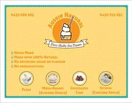 "#17 for Designs of ""DESI KOTHI ICE CREAM"" Logo, pamphlet, visiting card and banner by ErvinMF"