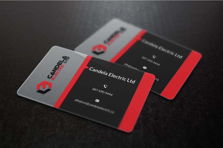 Entry #71 by hmdtaher for I need 2 Business cards for Candela ...