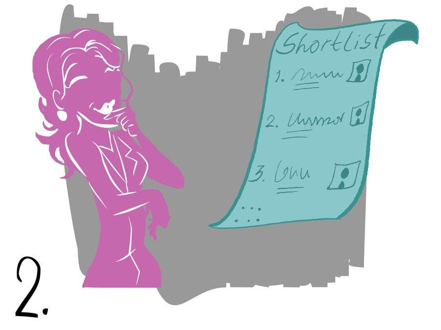 Penyertaan Peraduan #                                        17                                      untuk                                         Illustration Design for w0manpower.com - Introduction animation, illustration or comics