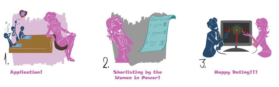 Penyertaan Peraduan #                                        15                                      untuk                                         Illustration Design for w0manpower.com - Introduction animation, illustration or comics
