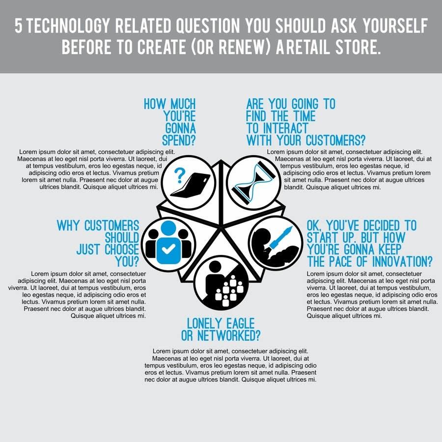 Inscrição nº 40 do Concurso para White Paper Infographics sesign for Loft Media Publishing