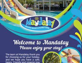 #39 for Design a Flyer for Mandalay Holiday Resort by IrynaSokolovska