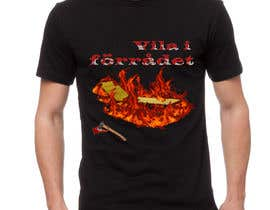 #40 cho Create a T-shirt design with text, flames, an axe and a sun chair! bởi anushacp