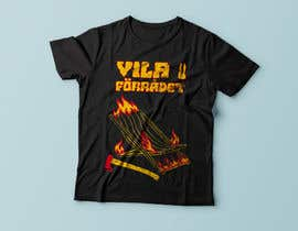 #38 cho Create a T-shirt design with text, flames, an axe and a sun chair! bởi Exer1976