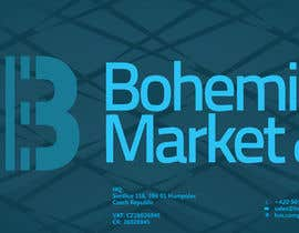 #5 for Company Bohemia Market CZ is looking for base design of document file, brochure and roll-up stands af radonsign