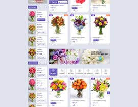 #12 for Flower Shop Website Homepage Layout   Design ONLY! Like 1800Flowers by rajchoudhary265