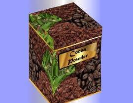 #24 untuk I need a paper box design on cocoa powder oleh icecad49