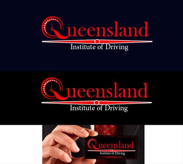Inscrição nº                                         121                                      do Concurso para                                         Logo Design for Queensland Institute of Driving