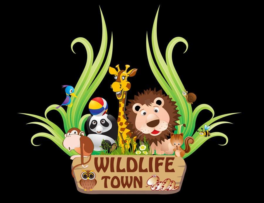 Конкурсная заявка №74 для Logo Design for Wildlife Town