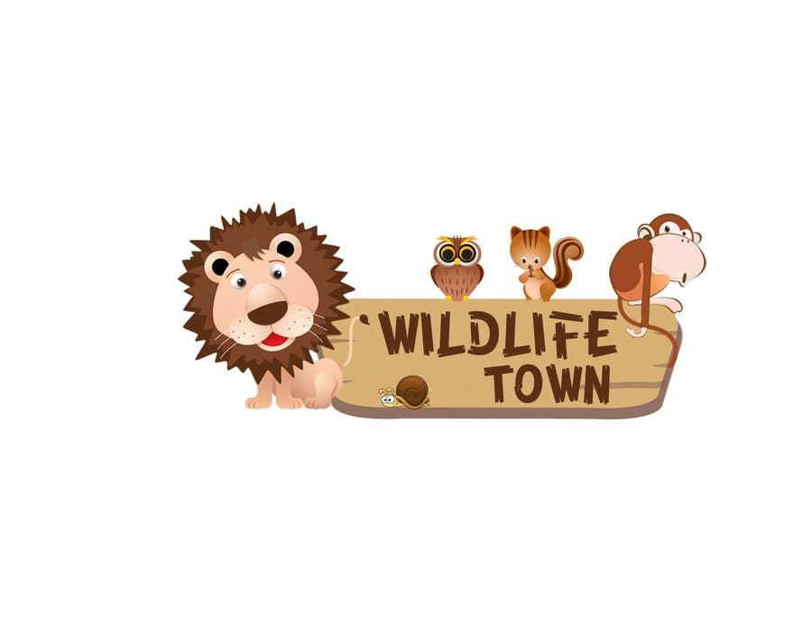 #122 for Logo Design for Wildlife Town by venug381