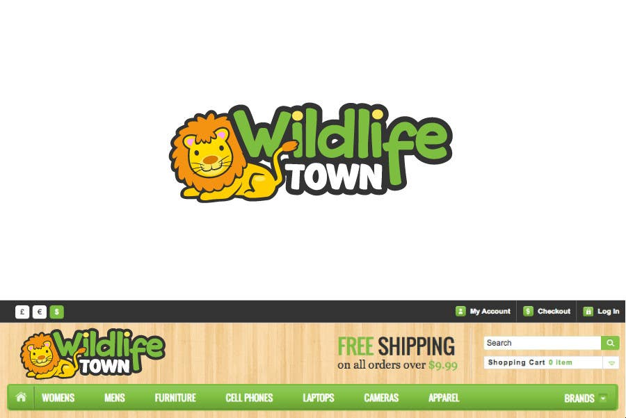 #112 for Logo Design for Wildlife Town by zhu2hui