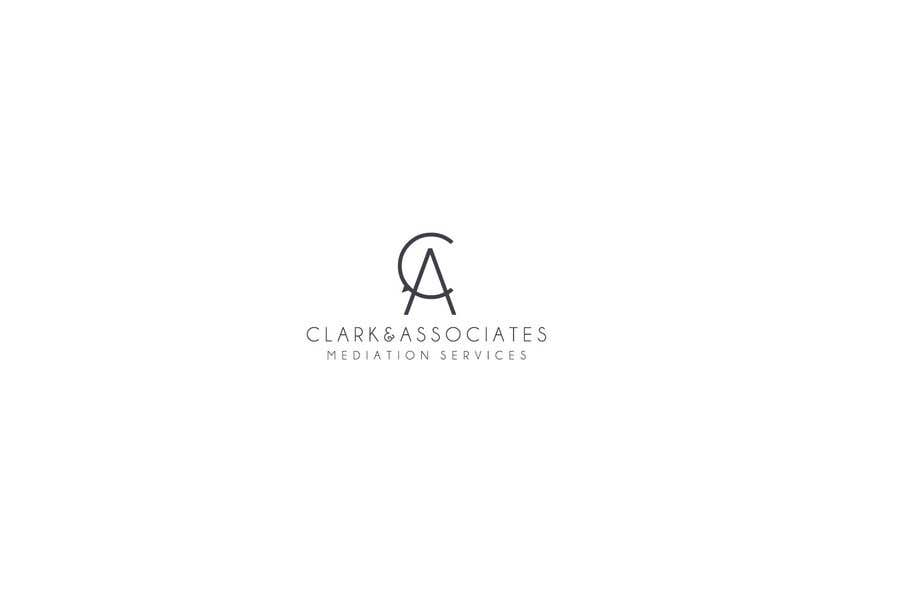 """Penyertaan Peraduan #23 untuk Logo for """"Clark & Associates Mediation Services"""" which offers mediation services away from court for people involved in disputes. Key concepts: confidential, discussion, understanding, option generation, agreement, mutually beneficial outcome."""