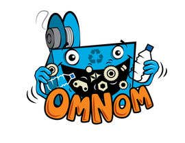 nº 16 pour Looking for an illustrative or cartoonish style logo For the name OmNom. par benpics