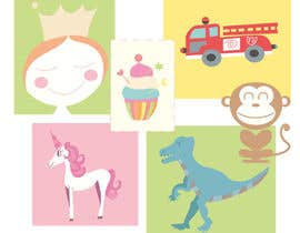 #43 untuk Supercute kids illustrations oleh yuntaraquel