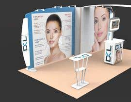 #22 for DESIGN MEDICAL AESTHTICS BOOTH FOR EXHIBITION by Arkhitekton007