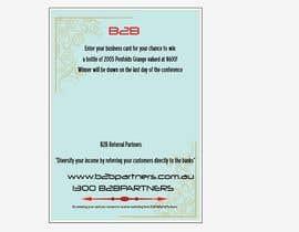 #5 para Design a Brochure for business card draw por stardust4me