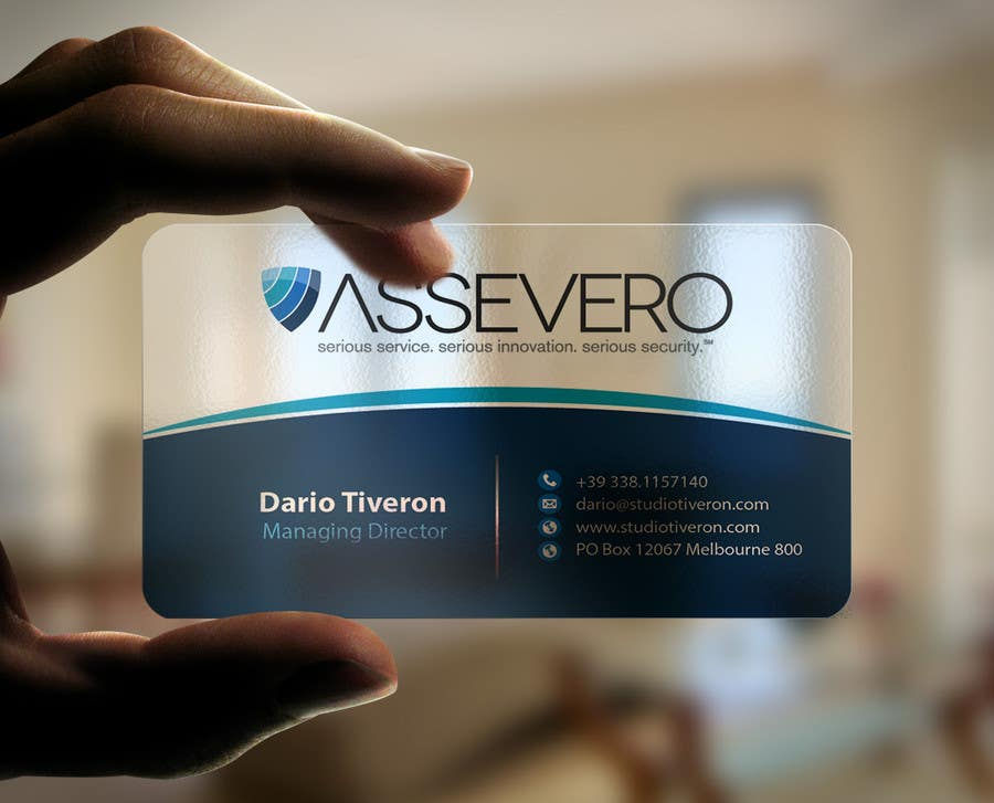 Entry #57 by mamun313 for Design Business Cards for Assevero ...