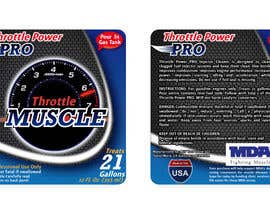 #11 untuk Print & Packaging Design for Throttle Muscle oleh theideascrew