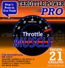 #5 for Print & Packaging Design for Throttle Muscle by hasankhalid89