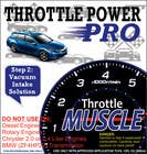 #6 for Print & Packaging Design for Throttle Muscle by Ubaidahmadmughal
