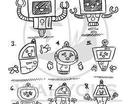 wahyous tarafından I need a robot sketch (pencil or digital) için no 43