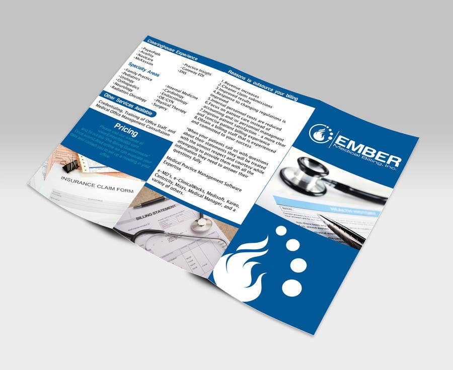 Entry #10 by GhaithAlabid for Design a Brochure & Business Cards ...