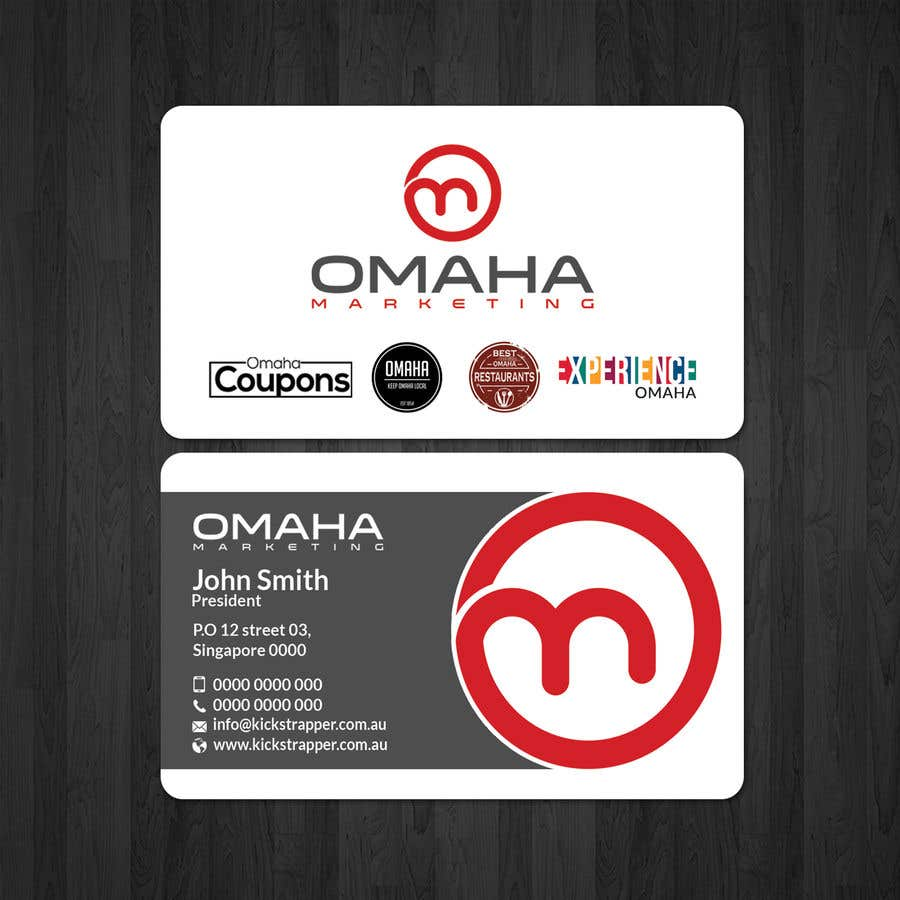 Business cards with multiple logos image collections card design business card with many logos choice image card design and card fine business cards omaha images colourmoves Image collections