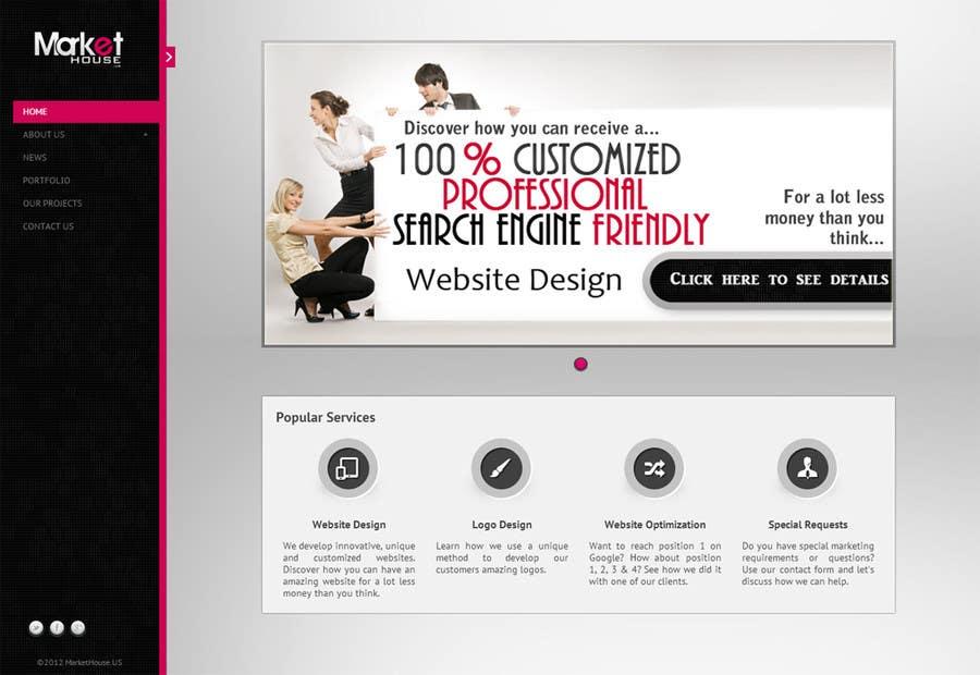 Kilpailutyö #92 kilpailussa Banner Ad Design for www.MarketHouse.us