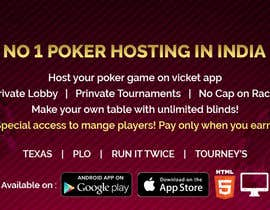 #17 for Design banner for poker hosting in india by RoboExperts