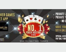 #12 for Design banner for poker hosting in india by ConceptGRAPHIC
