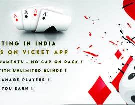 #19 for Design banner for poker hosting in india by Ashlamiri