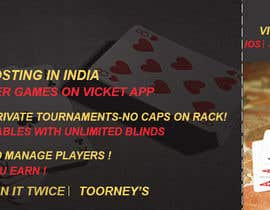 #20 for Design banner for poker hosting in india by rouf700306