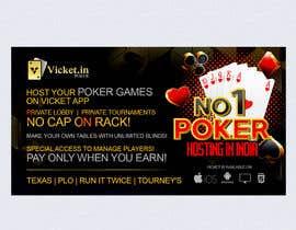 #18 for Design banner for poker hosting in india by murugeshdecign