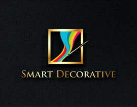 """#253 untuk Design a logo with the words """"Smart Decorative"""" letters to be really colourful and have a art brush in the logo drawing the logo oleh nandagasperini"""