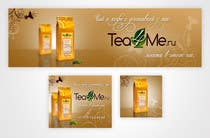Contest Entry #6 for Banner Ad Design for Tea4me.ru tea&coffee sales&delivery