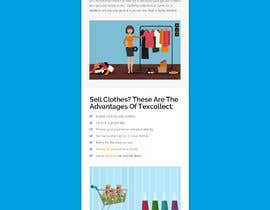 #113 for Design the front-end of a textile collector af xprtdesigner