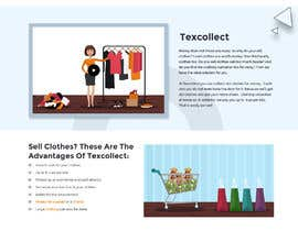#114 for Design the front-end of a textile collector af xprtdesigner