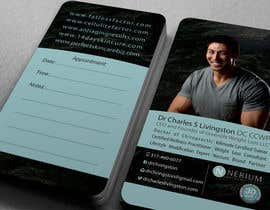 #125 untuk Business Card Design for Dr Charles oleh midget