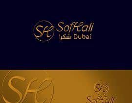 nº 89 pour brand is SofHali please use the S H as capital letter. In the second line unter the SofHali i want shukran shukran is the meaning of thank you and wirtten in arabic letters. The design in elegant in black and whit in vector par MohammedHaassan