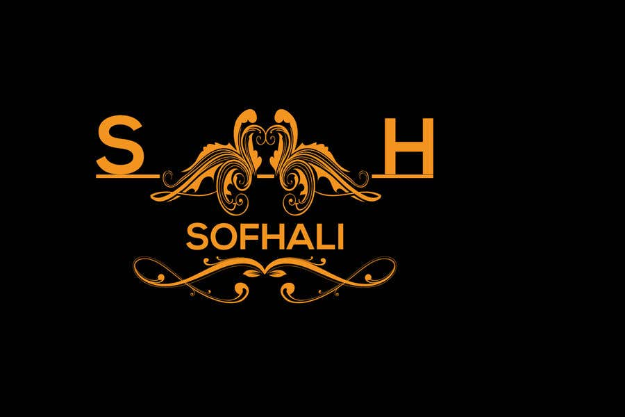 Entry #43 by khan91212 for brand is SofHali please use the S H as capital  letter. In the second line unter the SofHali i want shukran shukran is the  meaning of thank