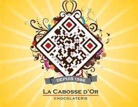 #31 for QR Code Design for our Chocolate Factory af ezesol