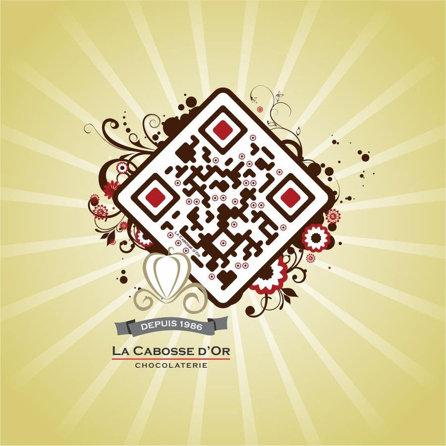 Inscrição nº 9 do Concurso para QR Code Design for our Chocolate Factory